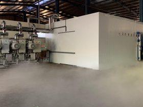 Thi công kho lạnh tại công ty Suka Suka